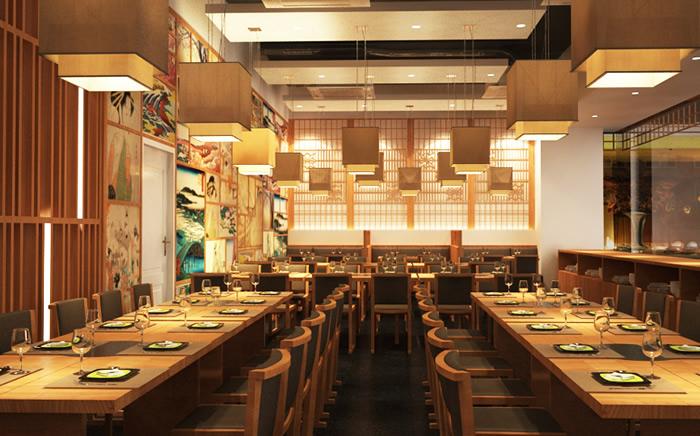 Với các mẫu thiết nhà hàng đẹp, đơn giản mang phong cách Châu Âu hiện đại đem đến cảm giác rộng rãi, thoải mái cho thực khách